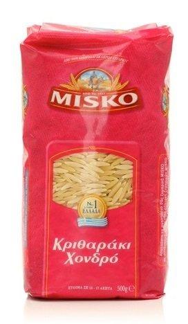 Misko - Greek Orzo Pasta [Risoni Large], (4)- 17.6 oz. Pkgs.