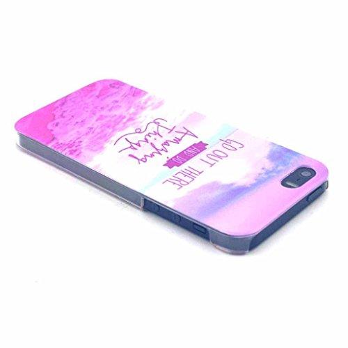 Iphone 5s Dur Coque Etui,Yaobai-Coque de protection en PC pour Apple Iphone 5s 5 Etui Hard case cover housse