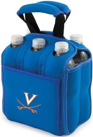 Price comparison product image PICNIC TIME NCAA Virginia Cavaliers Six Pack Cooler Tote