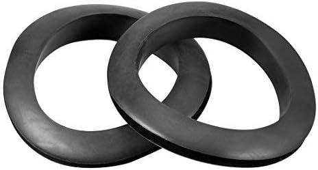 Filo protettivo resistente allolio telaio in gomma occhiello 50 mm nero diametro interno 5 pezzi