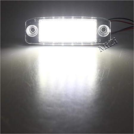 BEESCLOVER 2Pcs Car LED License plate light Number plate lamp for Kia Sportage 2011~ SONATA 10 10~13 SONATA YF 10MY 2010~2013 GF 10 show