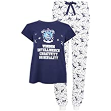 Primark Ladies Girls Womens Harry Potter Ravenclaw Pyjama Set Pajama PJ Set UK S-XL