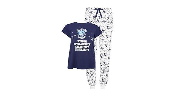 Primark Ladies Girls Womens Harry Potter Ravenclaw Pyjama Set Pajama PJ Set UK S-XL at Amazon Womens Clothing store: