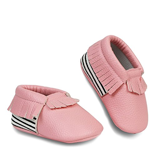FRILLS Infant Toddlers Fringe Moccasins product image