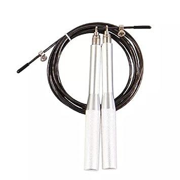 Goliton/® saltar cuerda deporte acero de alta velocidad de la velocidad de la aptitud ajustable cuerda de saltar la cuerda