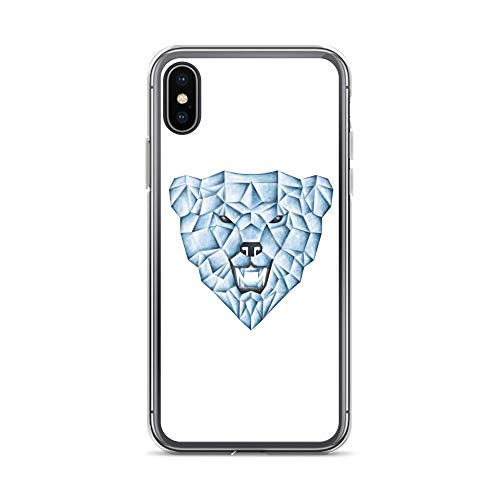 - iPhone X/XS Case Anti-Scratch Creature Animal Transparent Cases Cover Ice Bear Animals Fauna Crystal Clear