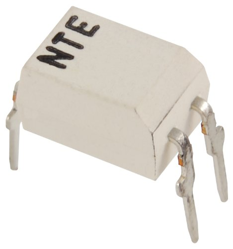 NTE Electronics NTE3222 Optoisolator with NPN Transistor Output, 4 Lead DIP Type Package, 5000V VISO, 300% - Ctr 300