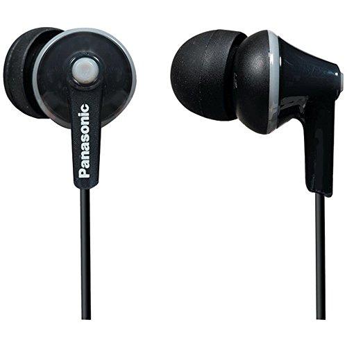 Panasonic TCM125 Earbud Headphones Headset In-Line Controls Black Consumer electronics