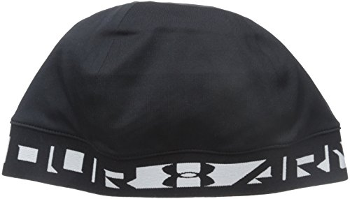 Under Armour Men's ColdGear Infrared Bonded Skull Cap, Black (001)/Black, One Size