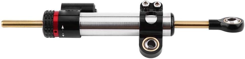 Court paragraphe Stabilisateur universel damortisseur de direction de moto en aluminium pour Yamaha MT10 MT 07 MT09