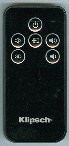 KLIPSCH 1015073 Genuine OEM original Remote for Klipsch Soundbar R-10B ICON SB1 SB3 POWER BAR - Icons The Originals