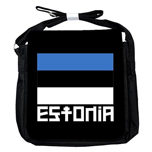 Estland -Flagge - Unisex-Umhängetasche