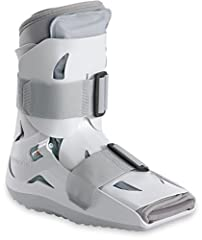 The Aircast SP (Short Pneumatic) Walker Brace / Walking Boot is a removable cast that will not limit mobility required for day-to-day activities while recovering from injury. It's specifically designed to provide protection and pneumatic supp...