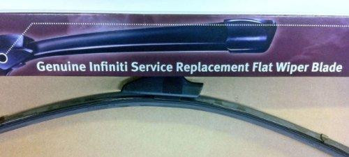 Infiniti Nissan Genuine Factory Original OEM FLAT WINDSHIELD WIPERS INFINITI G37 2DR COUPE & CONVERTIBLE