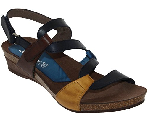 Xapatan 2164, Femme Nu-Pied Marine Lisse