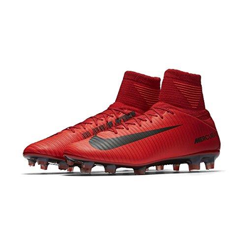 Nike Mens Mercurial Veloce Iii Df Fg Fotboll Cleat (rött, Ljust Crimson)