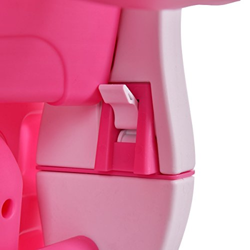 Costzon 3 in 1 Baby High Chair Desk Convertible Play Table Conversion Seat Booster (Pink) by Costzon (Image #7)
