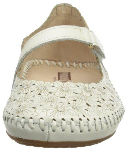 Pikolinos Puerto Vallarta 9639 - Sandalias fashion de cuero mujer Blanco - Nata