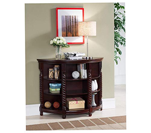 Wood Entryway Buffet Console Sofa Table Cherry Decor Comfy Living Furniture Deluxe Premium Collection