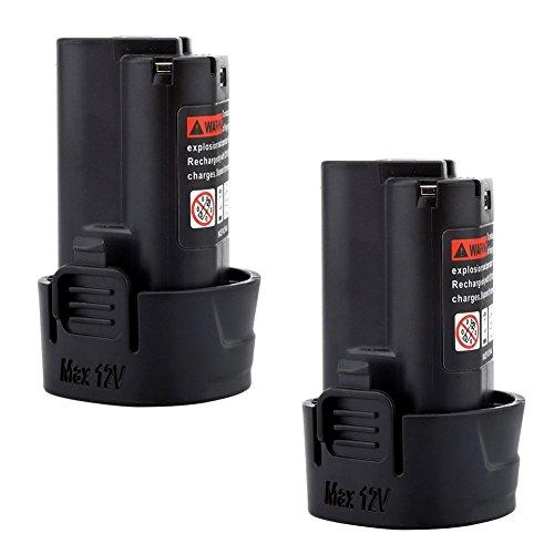2x Murllen 3.0Ah 10.8v Battery Replacement Li-ion for Makita BL1013 BL1014 194550-6 194551-4 195332-9 by Murllen (Image #6)