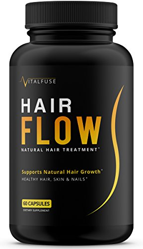 Hair Growth Vitamins Supplement - All Natural Support For Longer & Stronger Hair With Biotin, Vitamin A, Bamboo, Vitamin D and more!