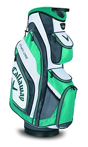 Callaway 2015 Chev Org Golf Cart Bag, White/Aqua/Charcoal