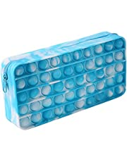 Push Bubble Potlood Bag, Potlood Case Bubble Toy Sensory Toy Briefpapier Box Make-up Organizer Bag Draagbaar voor School Home College Office Stress Relief Toy