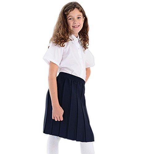 8 a Falda de de caja ni escolar uniforme a os 9 plisada de cintura q4qRwvE