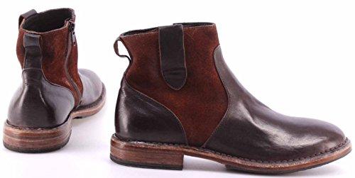 Zapatos Mujer Botines MOMA Ankle Boots 77607-Y1 Cusna Ebony Alien Vintage Italy