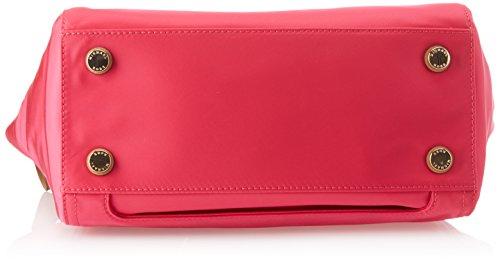 7274dcd6e00d Amazon.com: Michael Michael Kors Kelsey Nylon Medium Top Zip Tote Handbag  in Ultra Pink: Clothing