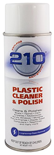 Sumner Laboratories (23304) 210 Plastic Cleaner/Polish - 14 fl. oz. Aerosol ()