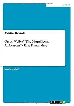 Book Orson Welles'