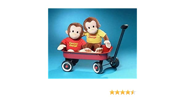 Amazon.com  Classic Curious George in Red Shirt 12