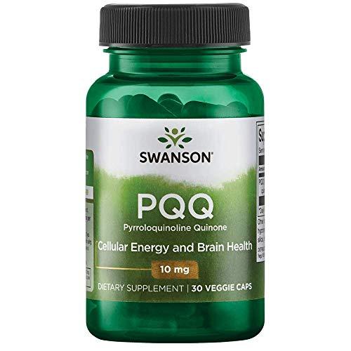 Swanson Pqq Pyrroloquinoline Quinone 10 Milligrams 30 Veg Capsules