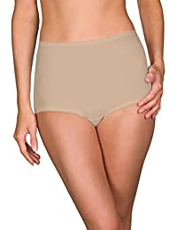 Shadowline Women's Plus Size Spandex Classic Brief 3-Pack