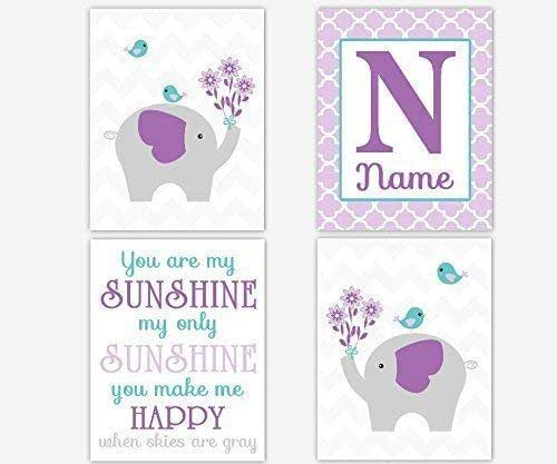 My Baby Girl S Nursery: Amazon.com: Baby Girl Nursery Wall Decor Purple Lavender