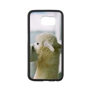 WEUKK Alpaca Samsung Galaxy S6 cases, diy case for Samsung Galaxy S6 Alpaca, diy Alpaca phone case