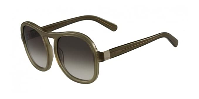 5294daafef Chloe Women's CE720S 303 56 Sunglasses, Khaki: Amazon.co.uk: Clothing