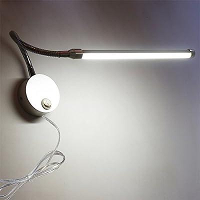 BRILLRAYDO 5W/9W LED Button Plug Light Flexible pipe Picture Tube Lamp Fixture