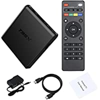 LuckyNV Android 6.0 TV Box Amlogic S905X Quad Core 4K2K 2.4G WiFi CODI 16.1 Set Top Box 1G RAM 8G ROM Media Playe