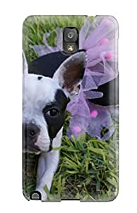 New Arrival Case Cover With XgmGgQP3230AtGlT Design For Galaxy Note 3- Boston Terrier Dog