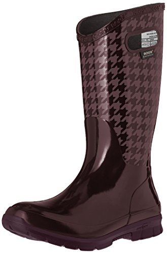 Bogs Womens Berkley Houndstooth Rain