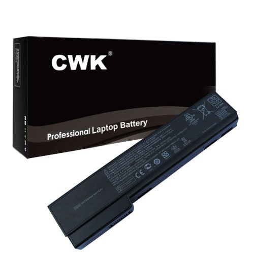 CWK® High Performance Battery for HP ProBook 6360b 6360t 6460b 6465b 6470b 6475b 6560b 6565b 6570b HP EliteBook 8460p 8460w 8470p 8470w 8560p 8570p 8770P CC03 CC06 CC06X CC06XL CC09 HSTNN-CB2F HSTNN-DB2F HSTNN-E04C HSTNN-F08C HSTNN-F11C HSTNN-I90C HSTNN-I91C HSTNN-LB2F HSTNN-LB2G HSTNN-LB2H HSTNN-LB2I Laptop Notebook Computer PC - 6 Cells 24 Months Warranty