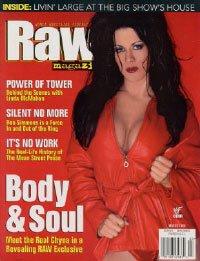 (WWF RAW Wrestling Magazine March 2000: Chyna)