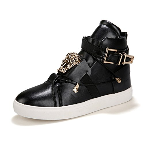 Mens Outdoor Sport Running Walking Shoes Lightweight Casual Sneakers lrh-8831 Black vYxOr2J3