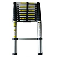 Giraffe 3.2m Telescopic aluminium extension ladder AUSTRALIA & NZ Tested and Certified (1892-1 1996) to 120kg load rating