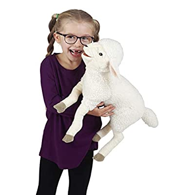 Folkmanis Lambkin Hand Puppet, Multicolor, One Size: Toys & Games