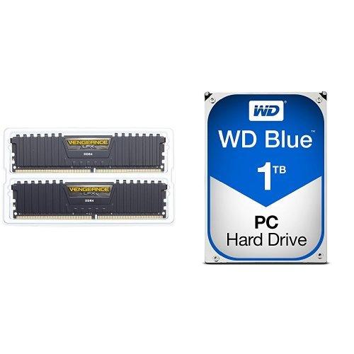 Corsair Vengeance LPX 16GB (2x8GB) DDR4 DRAM 3000MHz C15 Desktop