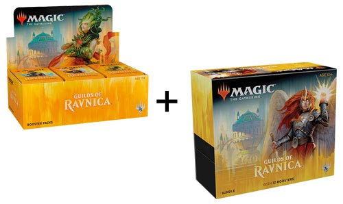 MTG Guilds of Ravnica Booster Box + Bundle Magic The Gathering