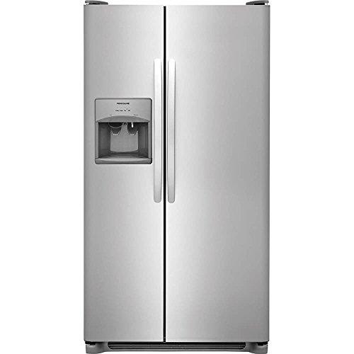 Frigidaire FFSS2615TS 36 Inch Side by Side Refrigerator with